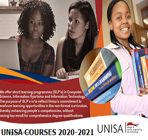 University of South Africa (Unisa) Courses 2020-2021