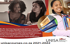 University of South Africa (Unisa) Courses 2021-2022